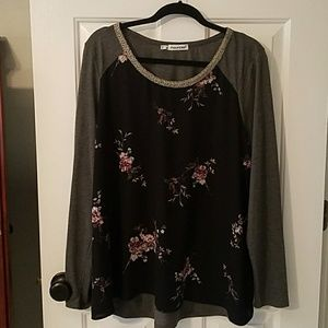 New floral top